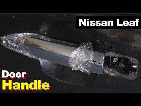 2013 Nissan Leaf Driver's Exterior Door Handle & Smart Key