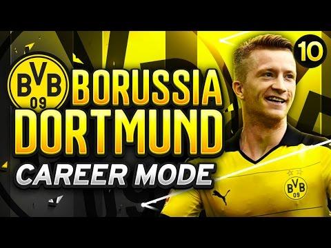 FIFA 16 Dortmund Career Mode - CHASING THE TREBLE! - S2E10