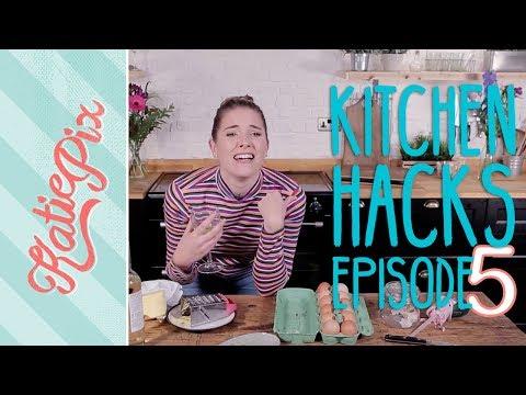 Top 5 Kitchen Hacks | Episode 5 | Katie Pix