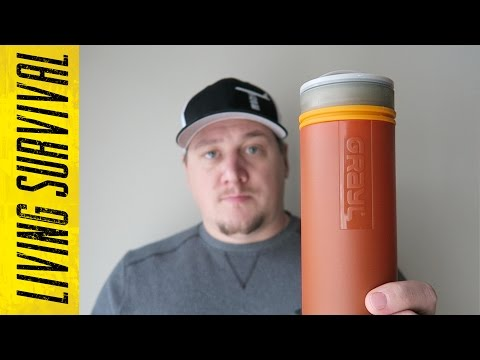 The Grayl Ultralight Water Bottle