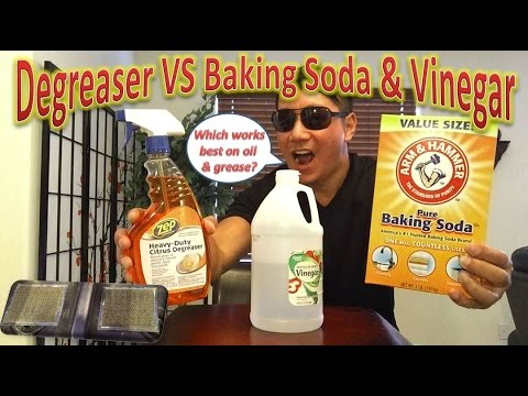 Degreaser VS Baking Soda & Vinegar For Cleaning Range Hood Filters
