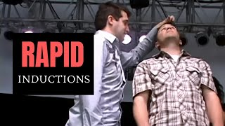 How to Hypnotize in Seconds - Rapid Inductions