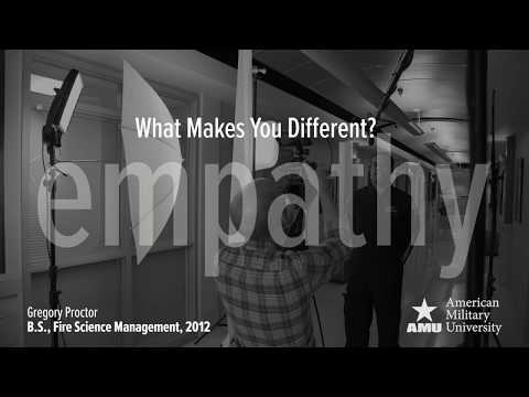 Make A Difference: Empathy (:30) | American Military University (AMU)