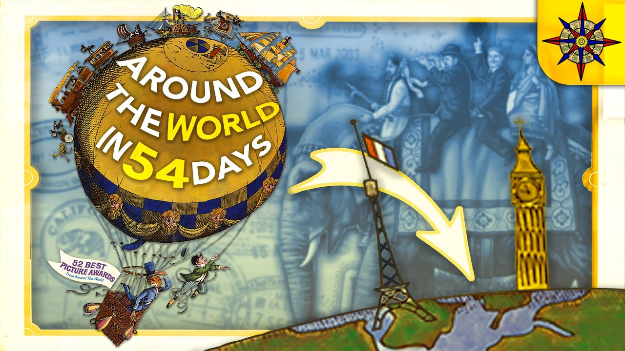 Around the World in 54 Days and $10,000