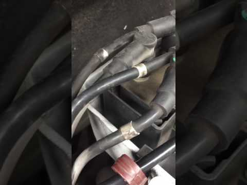 Clio sport misfire, leads / coilpack gone arcing