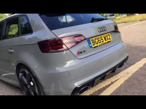 AUDI RS3 8V INSANE EXHAUST!!!
