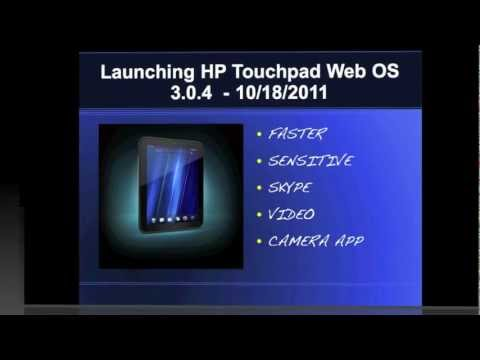 Hp Touchpad  Upgrade to Web OS 3.4.0 review
