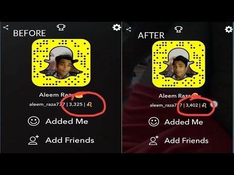How To Increase Snapchat Score || In Hindi || Tech With Raza ||