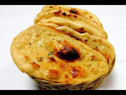 Wheat Naan Recipe At home | Butter Naan Recipe At Home On Tawa
