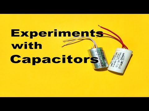 Experiments with Fan Capacitor