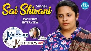 Singer Sai Shivani Exclusive Interview  Melodies And Memories 23