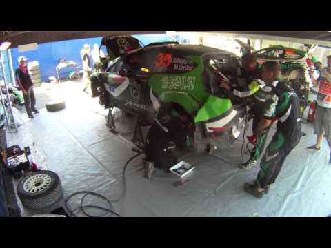 Yazeed Al-Rajhi WRC Rally Australia 30 minute service