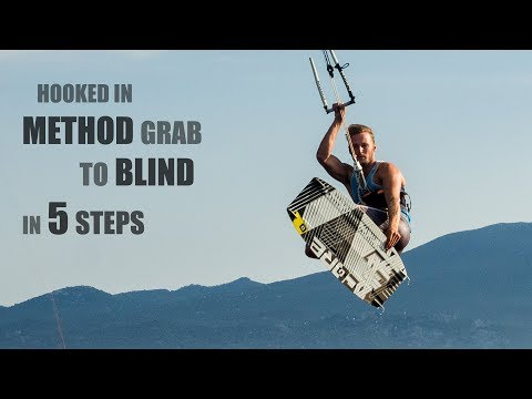 How To Do - Method Grab To Blind - Learn Kitesurfing - BOUCH