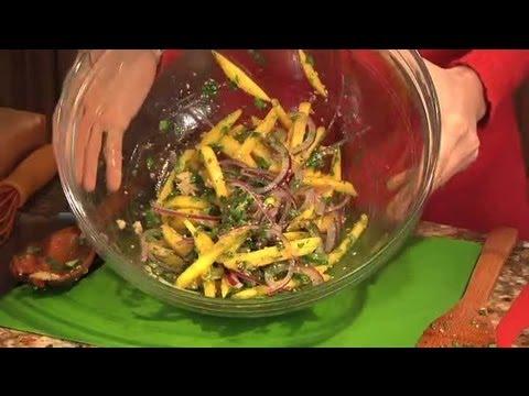 Vietnamese Mango Salad : Mango Salads