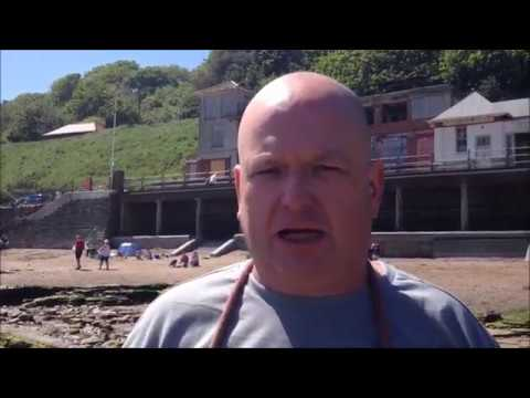 A ride on Scarborough's South Cliff Railway Lift