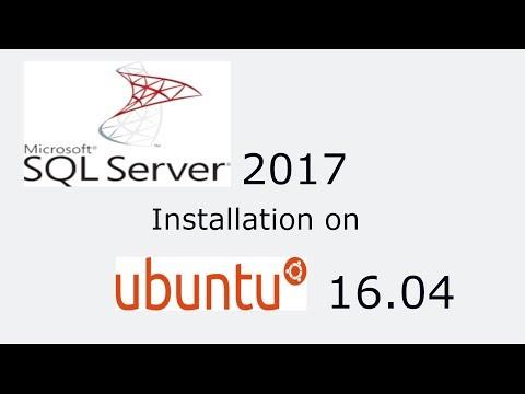 Microsoft SQL Server 2017 Installation on Ubuntu 16.04 LTS Step by Step