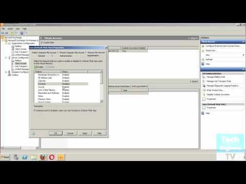 Configure Segmentation Settings of OWA in Exchange Server 2010