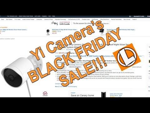 Yi Home Camera's Sale - Yi Dome 1080p | Yi Home 1080p | Yi Outdoor Camera