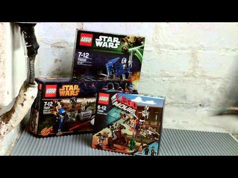 VLOG 31 The Entertainer Toy Shop Lego Movie & Star Wars Haul