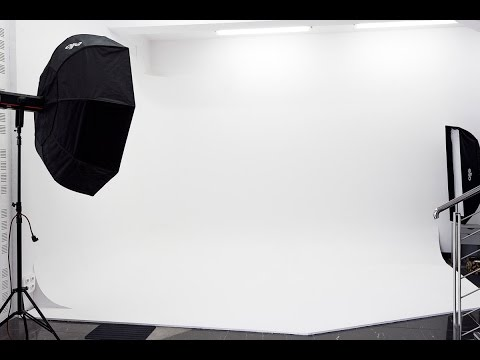How to build a Cyclorama in Photo Studio