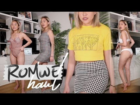 ROMWE TRY-ON HAUL | EVERYTHING UNDER $10!! | JLINHH