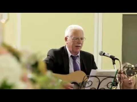 Waltzing at a wedding in Menlough church