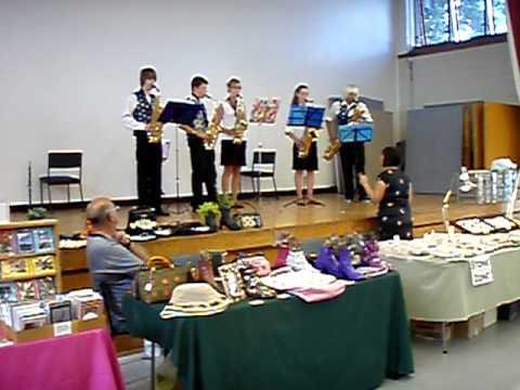 Orewa Craft Market NZ Arts & Craft Events NZ handmade gifts 19 03 11 Saxophone group
