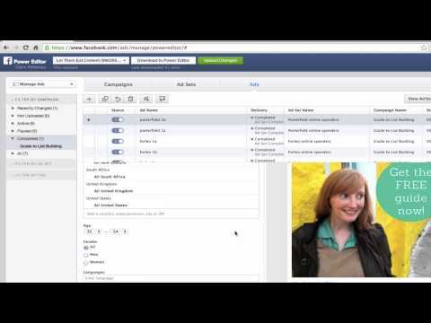 How to Use Facebook Ads to Target An Email List