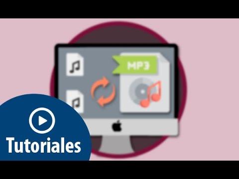 Convertir archivos M4A O ACC a MP3 utilizando iTunes en Mac