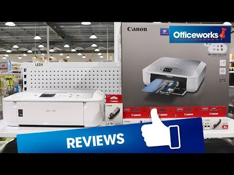 Canon Pixma Home Wireless Inkjet MFC Printer MG5765 Overview