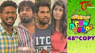 Fun Bucket | 48th Copy | Funny Videos | by Harsha Annavarapu | #TeluguComedyWebSeries