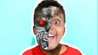 Shiloh TURNS INTO A ROBOT! - Shasha and Shiloh - Onyx Kids