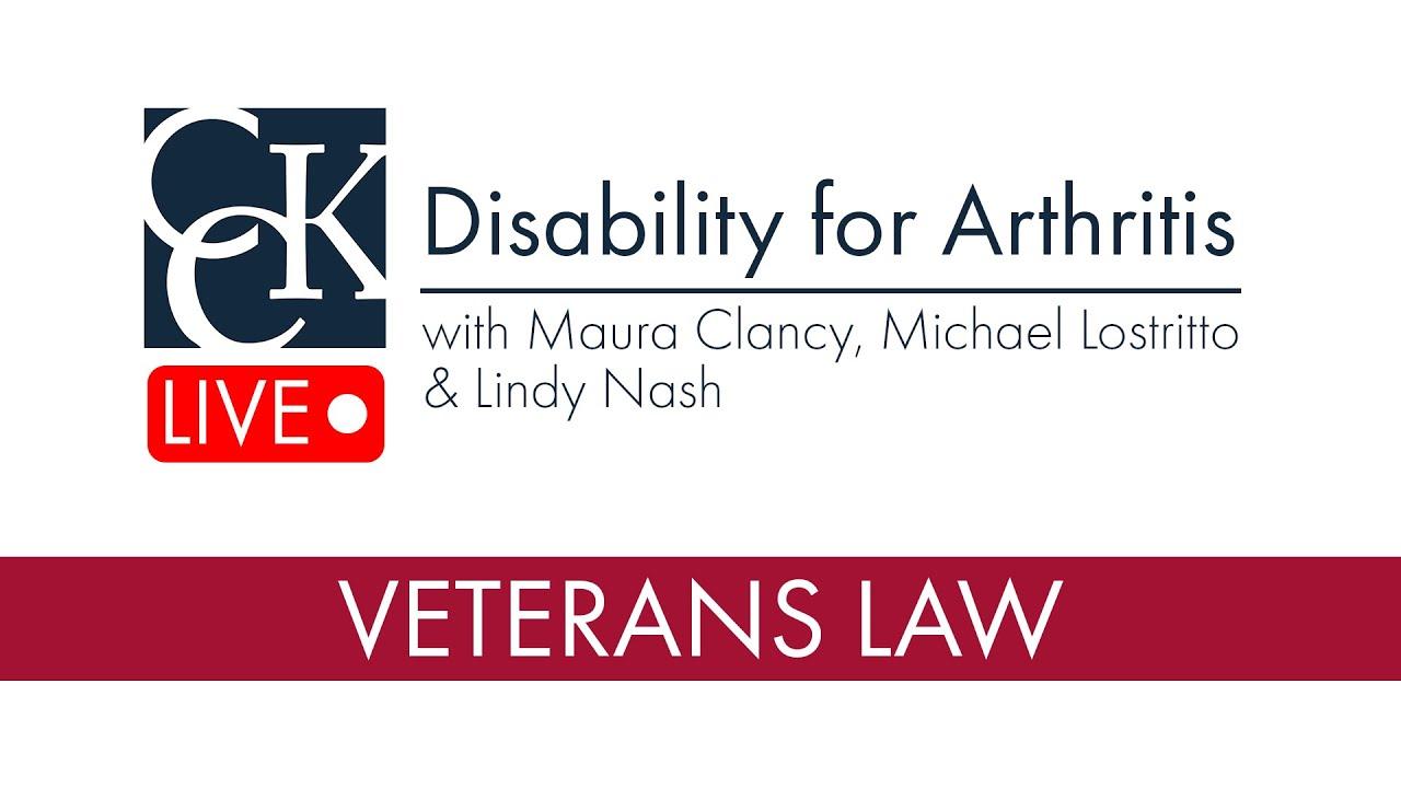 VA Disability for Arthritis