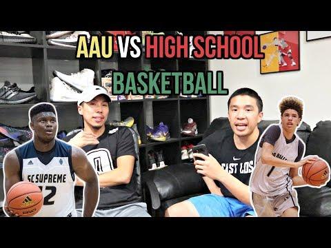 IS AAU BASKETBALL GOOD OR BAD? BETTER THAN HIGH SCHOOL BASKETBALL?