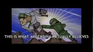 Argentine Falklands Cartoon - English Sub