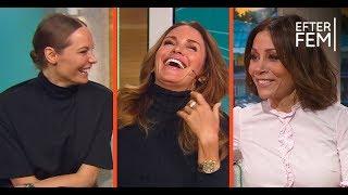 """Carolina Gynning avslöjar Carina Bergs bröllopsnatt: """"Nu vet hela Sverige""""  - Efter fem (TV4)"""