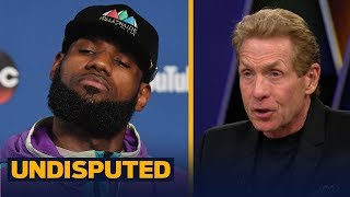 Skip and Shannon react to LeBron James calling out his critics | NBA | UNDISPUTED