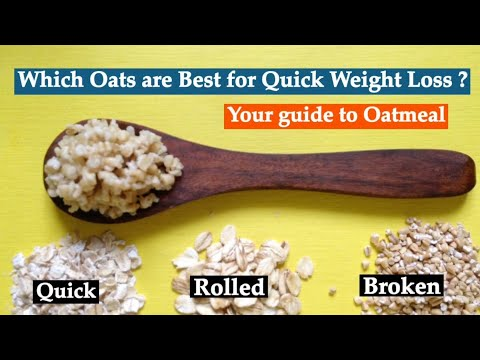 Which Oats are Best for Weight Loss | How to cook Healthy Steel Cut/ Broken Oats | Quick vs Broken