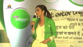 Parineeti Chopra At Launch Of New Whisper Ultra