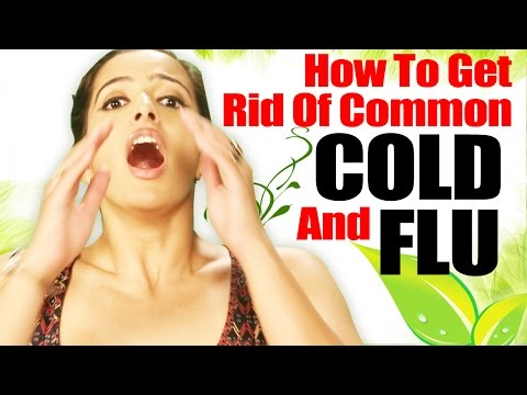 How to Get Rid of Common Cold and Flu Quickly - Homemade Cold and Flu Remedy