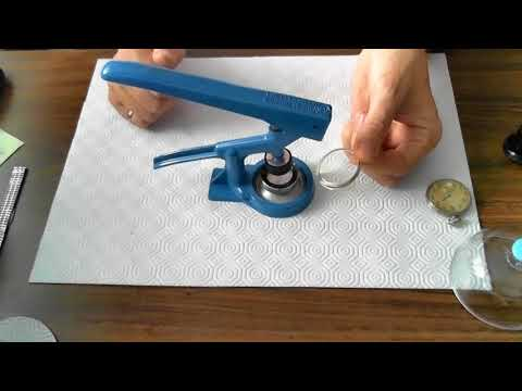 Installing a Pocket Watch Crystal