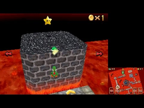Super Mario 64 DS - Star Cancel Glitch in LLL