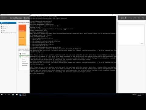 Remove a Child Domain from Root Domain running Windows Server 2016 (Child Domain unavailable)