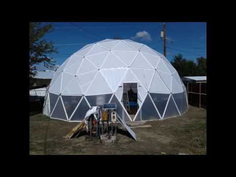Build A Geodesic Dome Greenhouse