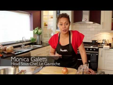 How to make butternut squash soup with Monica Galetti