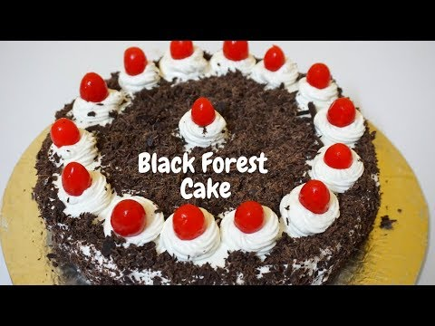 Easiest Way to Make Eggless Black Forest Cake At Home