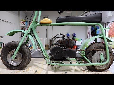 Mini Bike Restoration : Part 1 - 97cc Baja Mini Bike