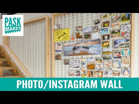 Photo/Instagram/Display Wall