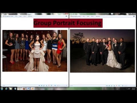 Where to Focus in Group Photos - Group Portrait Tutorial Focusing Tips