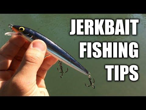 Jerkbait Fishing Tips to Land More Bass